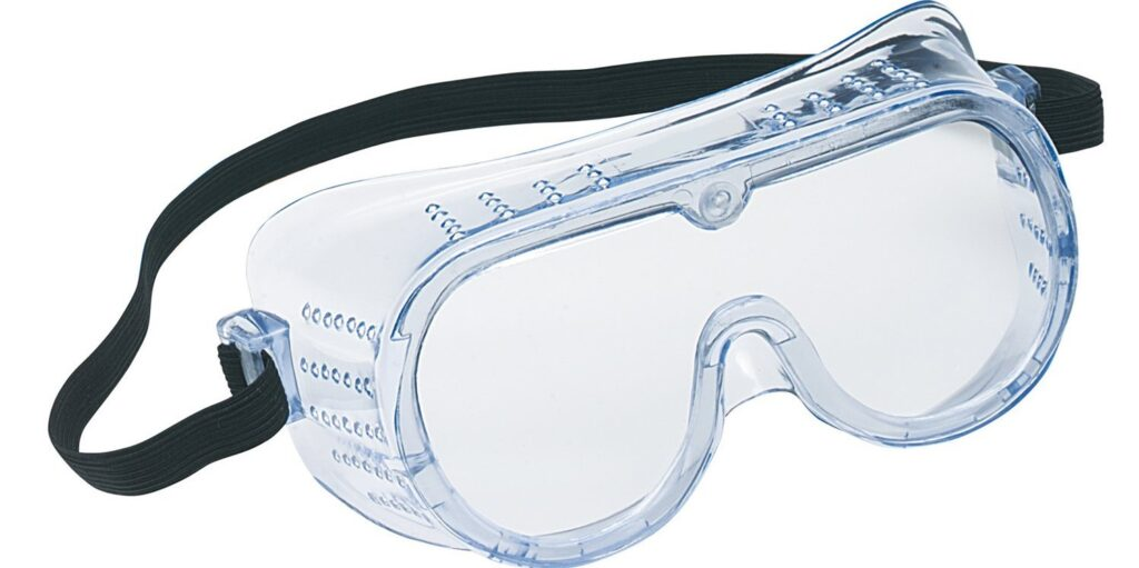 Safety Goggles Banner PPE