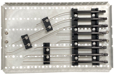 Rigid ENT Handpiece Tray